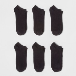 Women's 6pk Low Cut Socks - A New Day™ One Size