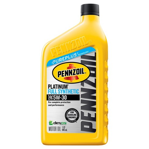 Pennzoil Platinum Full Synthetic 5W-30 - image 1 of 1