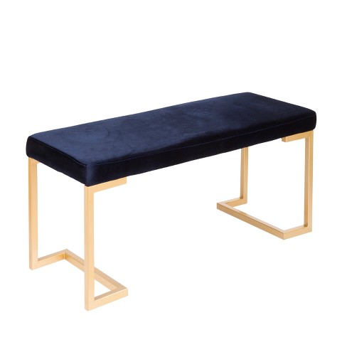 Midas Contemporary Entryway Dining Bench with Cushion - Lumisource - image 1 of 6