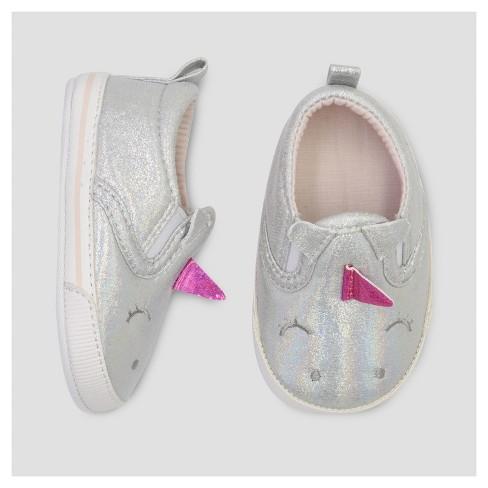 90db6458c67 Baby Girls  Slip On Unicorn Sneaker - Cat   Jack™ White   Target