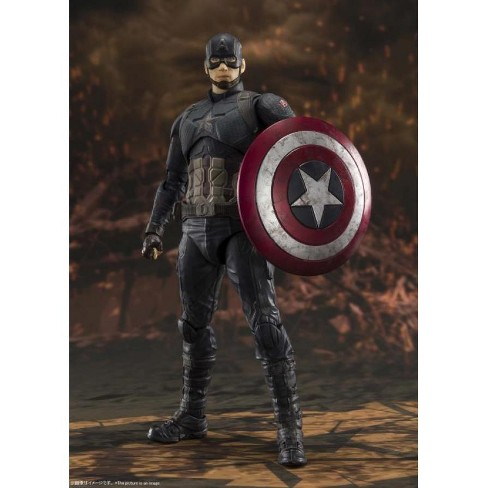 S.H.Figuarts Avengers-End Game Captain America | Final Battle Edition Action figures - image 1 of 4