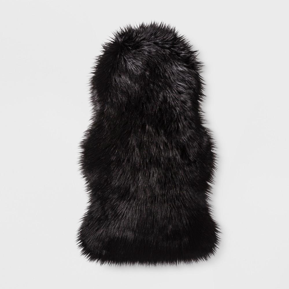 Black Faux Fur Pelt - Project 62