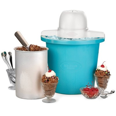 Nostalgia 4qt Electric Ice Cream Maker - ICMP4BL