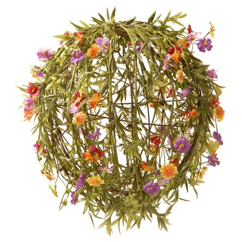"""12"""" Garden Accents Artificial Flower Ball - National Tree Company - image 1 of 4"""
