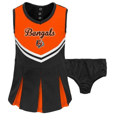 bbfa82b97 Cincinnati Bengals Infant-Toddler In the Spirit Cheer Set 18 M   Target