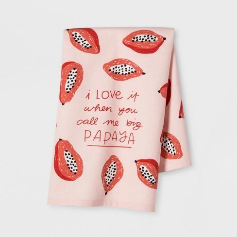 Papaya Kitchen Towel - Opalhouse™ - image 1 of 2