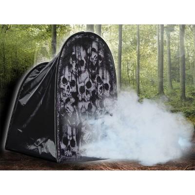"24"" Halloween Tombstone Skulls Fog Machine Accessory"