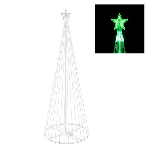 "6' x 28"" LED 200 Light Show Tree - Green - image 1 of 1"