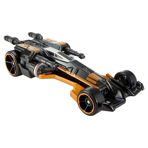 Hot Wheels Star Wars: The Force Awakens Orange X-Wing Carship - image 1 of 3
