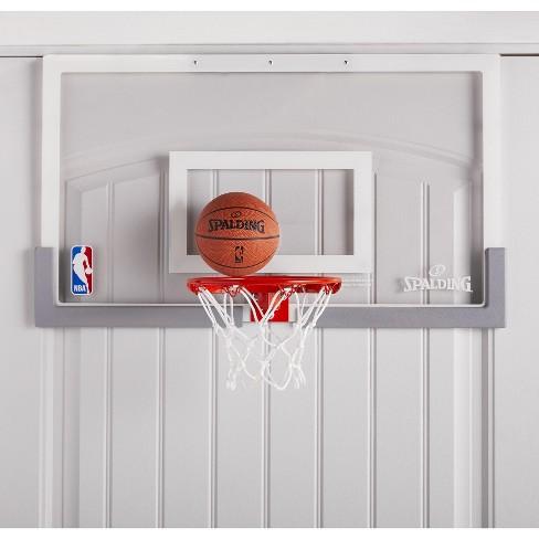 c0da4a2d0f1 Spalding NBA Breakaway 180 Over-the-Door Basketball Hoop Set   Target