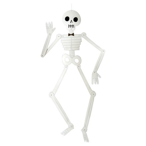 Halloween Large Paper Skeleton Wall Decor Hyde And Eek Boutique