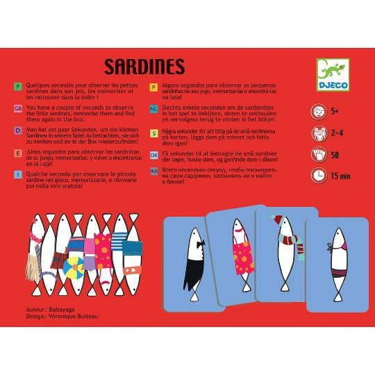 Sardines Board Game, board games image number null