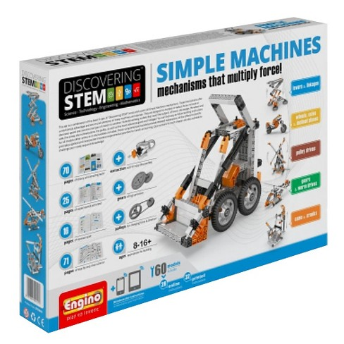 Engino Discovering Stem Simple Machines Building Kit - image 1 of 1