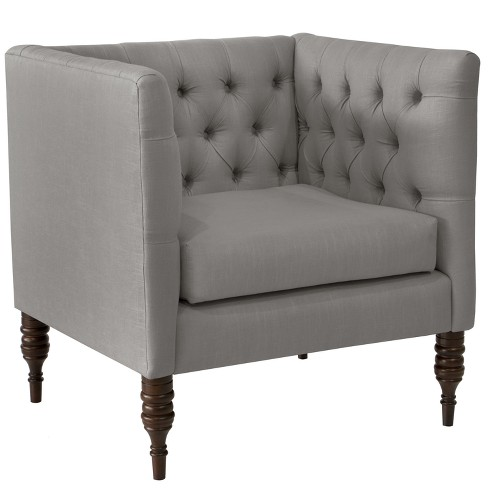 Tufted Arm Chair - Skyline Furniture - image 1 of 6