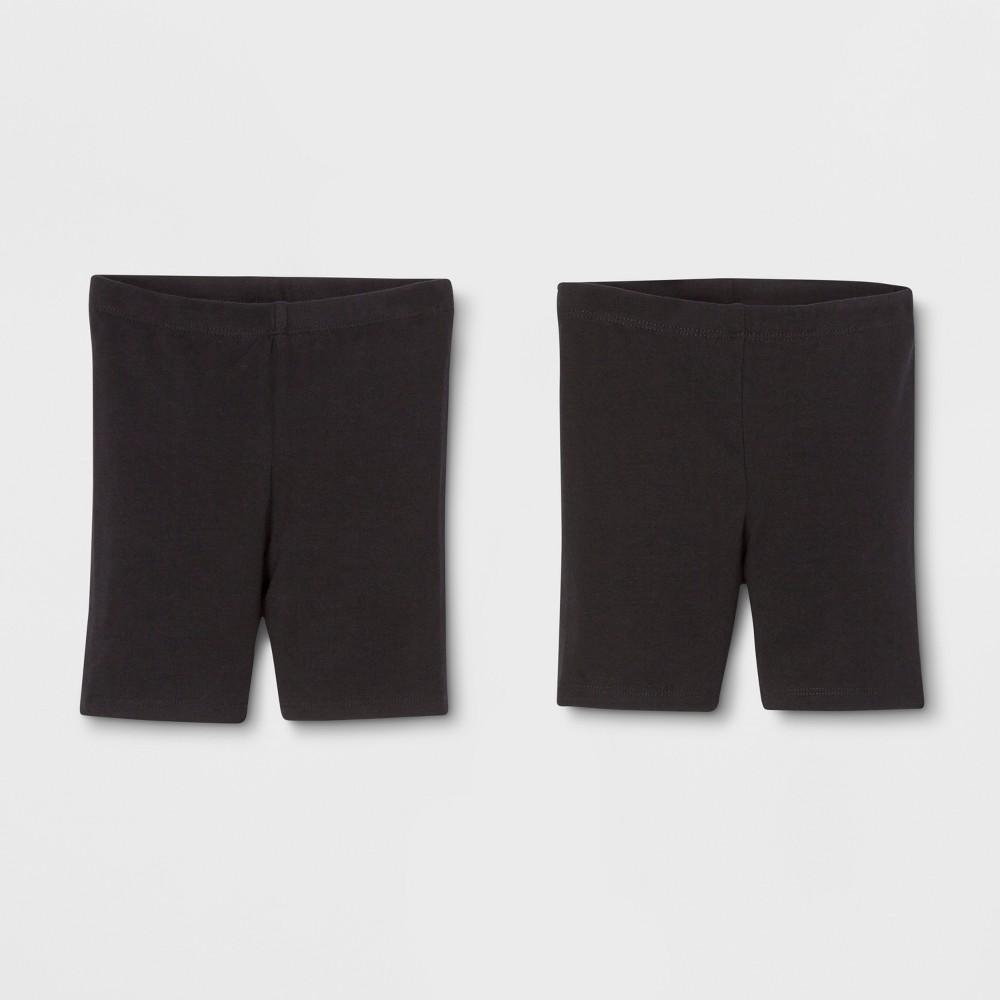 Toddler Girls' Trouser Shorts - Cat & Jack Black 2T