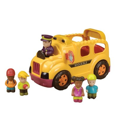 B. toys Yellow School Bus Lights & Sounds – Boogie Bus