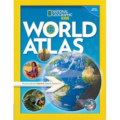 National Geographic Kids World Atlas, 5th Edition - by  National Kids (Paperback)