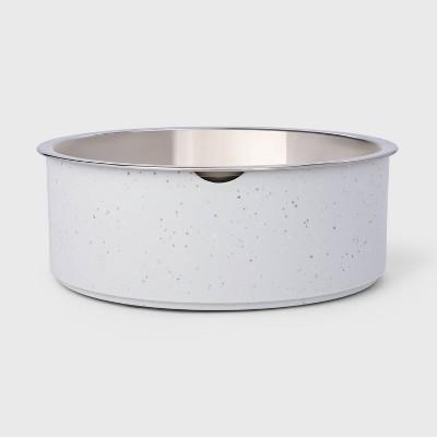 Speckle Melamine Dog Bowl - Gray - 28oz - Boots & Barkley™