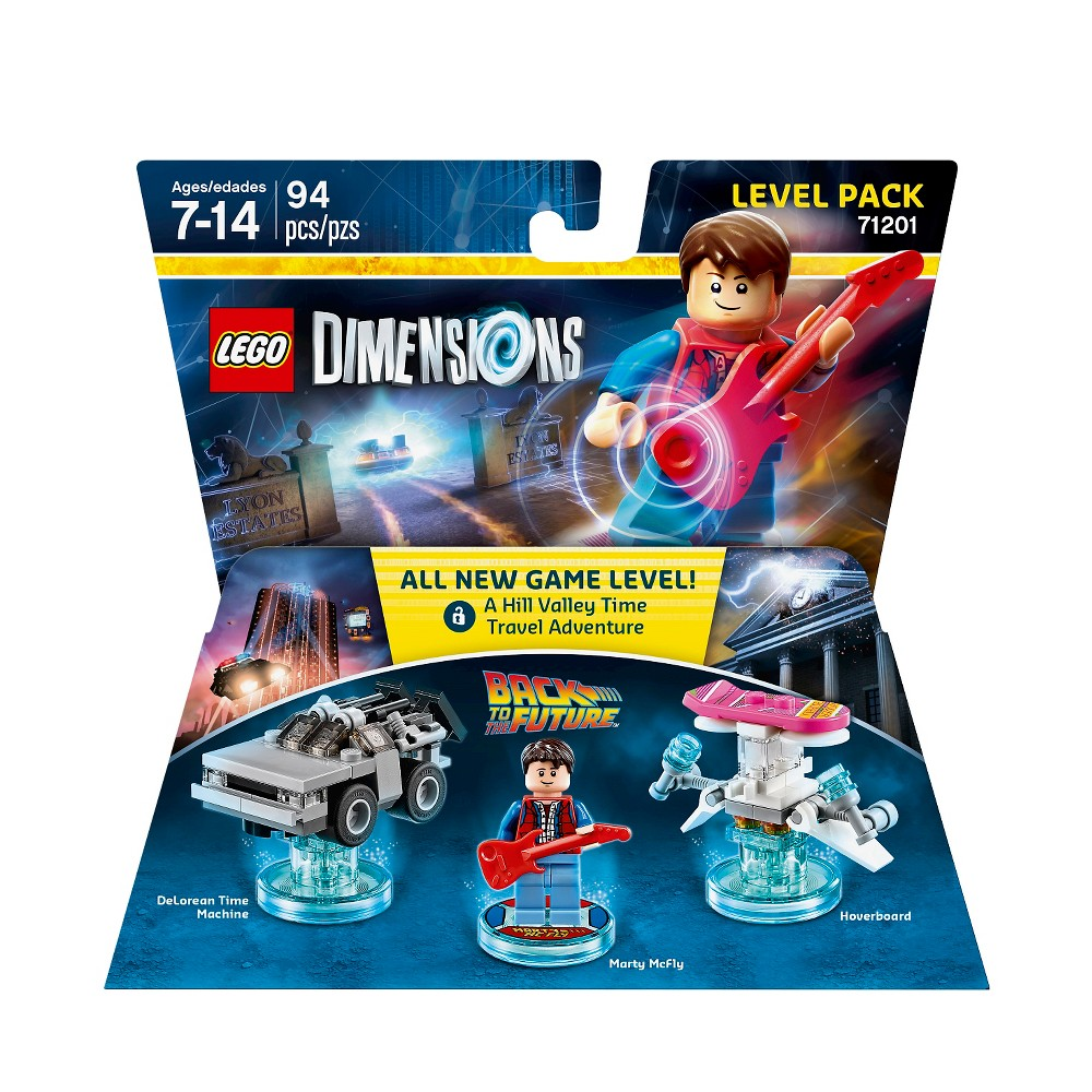 Lego Dimensions - Back to the Future Level Pack Lego Dimensions - Back to the Future Level Pack