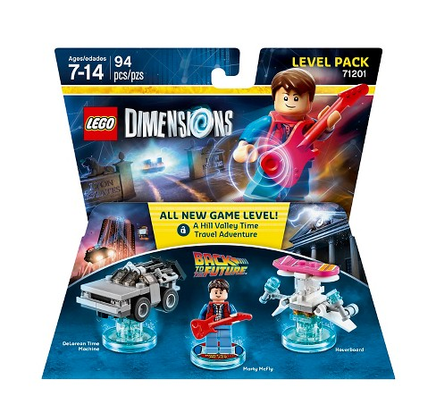 LEGO Dimensions - Back to the Future Level Pack - image 1 of 1