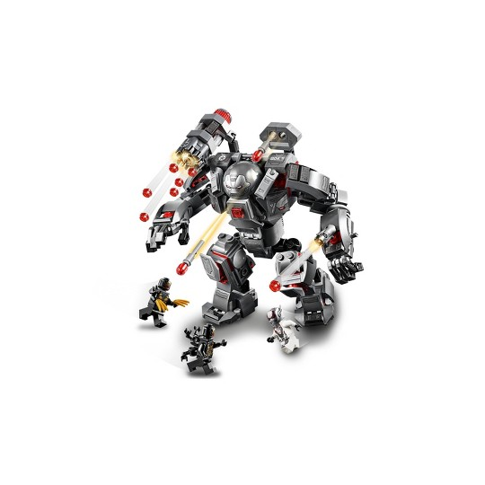 LEGO Marvel Avengers War Machine Buster 76124 image number null