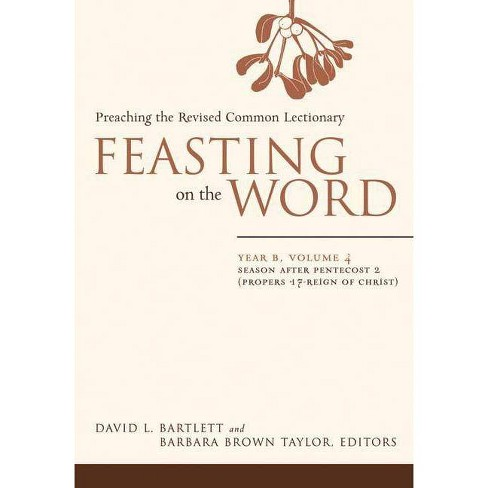 Feasting on the Word: Year B, Vol. 4 - (Hardcover) - image 1 of 1