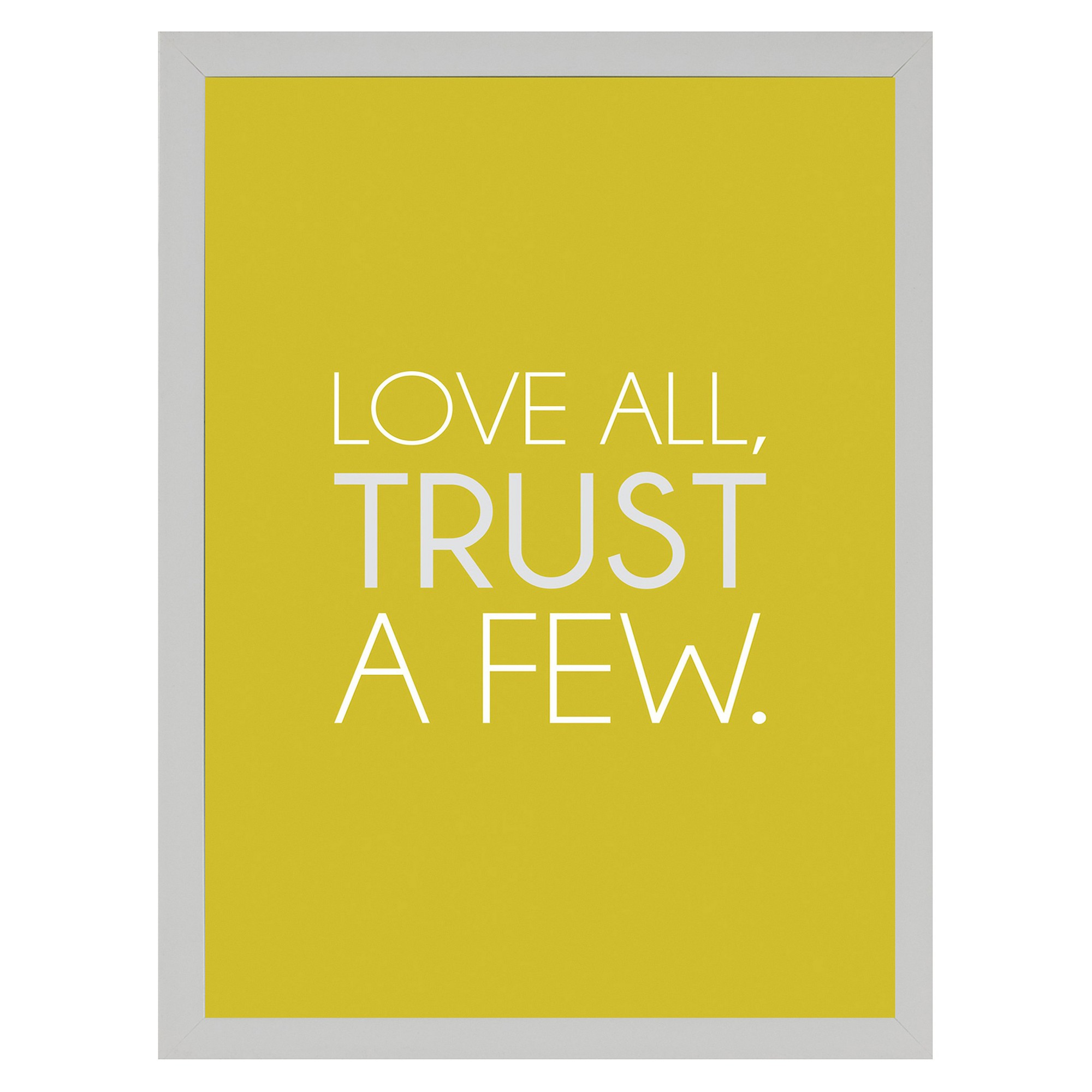 Love All Wall Art, framed wall poster prints