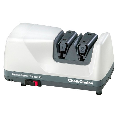 Chef'sChoice Electric Diamond Hone 2 Stage Knife Sharpener - White - image 1 of 1