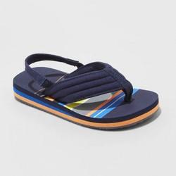 Toddler Boys' Leo Flip Flop Sandals - Cat & Jack™ Navy