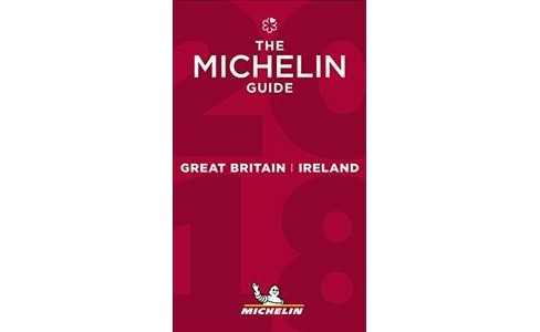 Michelin Red Guide 2018 Great Britain & Ireland -  (Paperback) - image 1 of 1