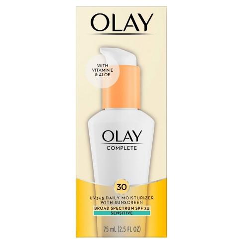 Olay Complete Lotion Moisturizer - Sensitive Skin - SPF 30 - 2.5 fl oz - image 1 of 4