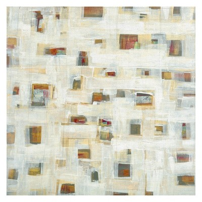 """35""""x35"""" Library By Maeve Harris Art On Canvas - Fine Art Canvas"""