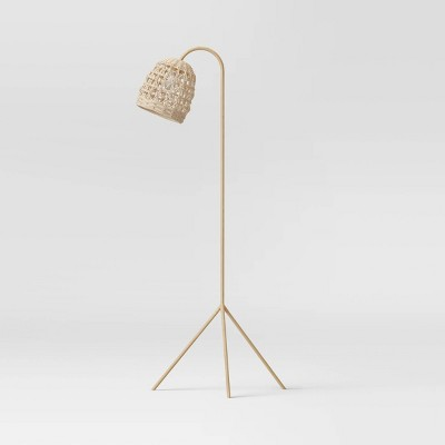 Seagrass Karina Tripod Floor Lamp Natural (Includes LED Light Bulb) - Opalhouse™