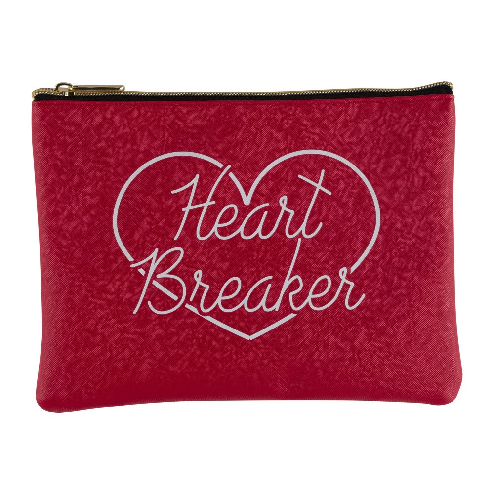 Image of Ruby+Cash Zip Cosmetic Bag - Heart Breaker