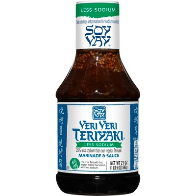 Soy Vay Marinade & Sauce Veri Veri Teriyaki Less Sodium 21oz