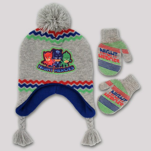 e026a44a1be7 Toddler Boys  PJ Mask Handwear And Headwear Sets   Target