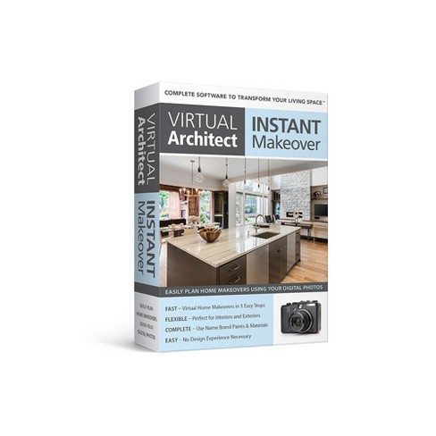 Avanquest Virtual Architect Instant  Makeover - PC - Email Delivery - image 1 of 1