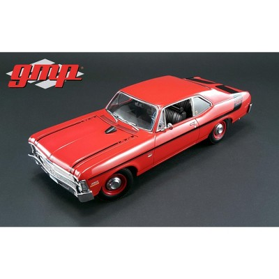 1970 Chevrolet Nova Yenko Deuce Cranberry Red Limited Edition to 660 pcs 1/18 Diecast Model Car  by GMP