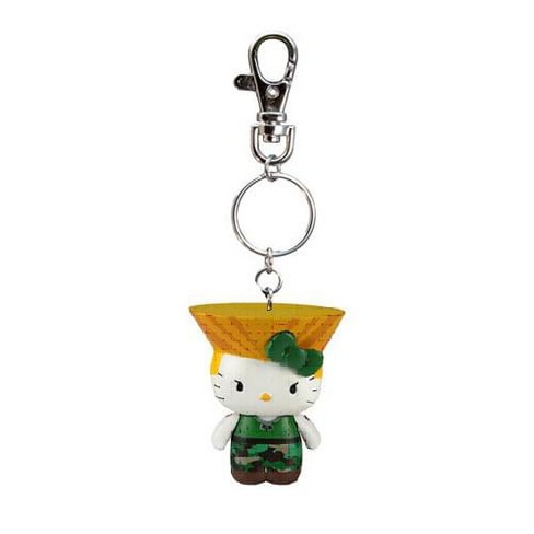 Street Fighter X Sanrio Mobile Key Chain Guile   Target d6f4decf0490