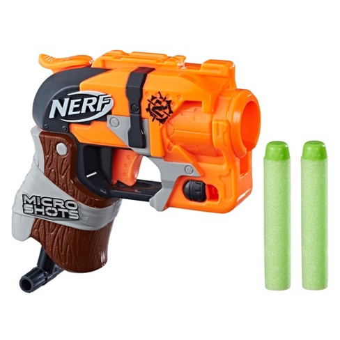 NERF MicroShots Zombie Strike Hammershot Blaster - image 1 of 2