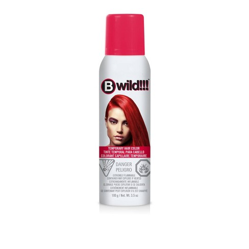 Jerome Russell Bwild Temporary Hair Color Spray Red - 3.5oz - image 1 of 4