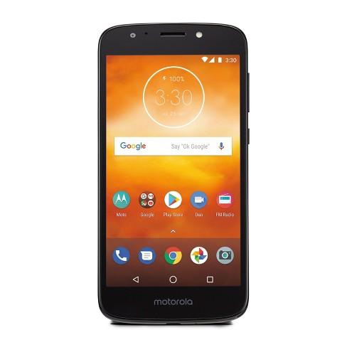 Consumer Cellular Postpaid Moto E5 Play (16GB) - Black - image 1 of 4