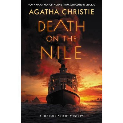 Death on the Nile: A Hercule Poirot Mystery - by Agatha Christie (Paperback)