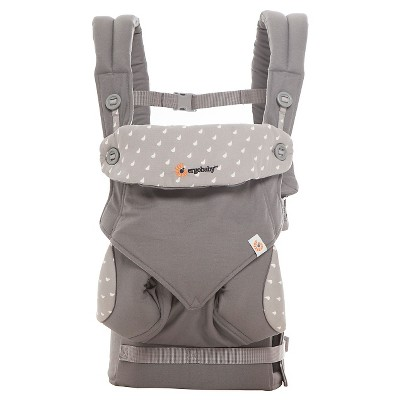 Ergobaby 360 All Carry Positions Ergonomic Baby Carrier - Dewy Gray