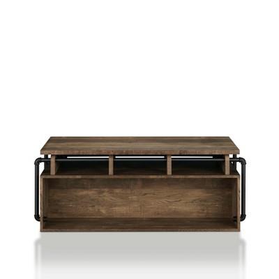 Natale Lift Top Coffee Table Reclaimed Oak - miBasics