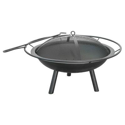Landmann 28.5  Halo Fire Pit Steel - Black