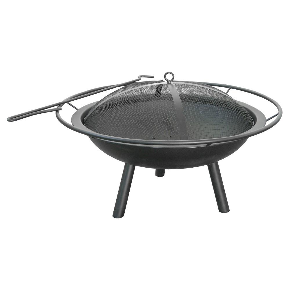 Image of Landmann 28.5 Halo Fire Pit Steel - Black