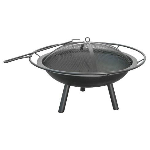 "Landmann 28.5"" Halo Fire Pit Steel - Black - image 1 of 2"