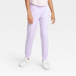 Girls' Soft French Terry Jogger Pants - All in Motion™
