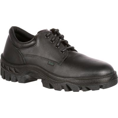 Men's Rocky TMC Postal-Approved Plain Toe Oxford Shoe
